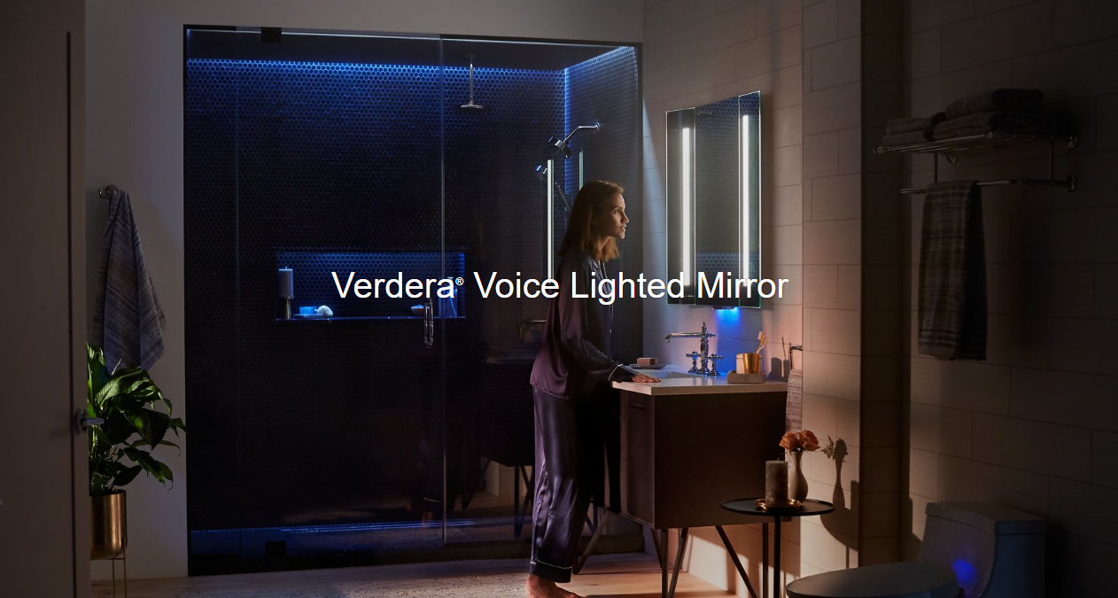 Verdera®  Voice Lighted Mirror